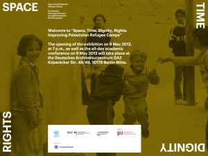 space time dignity rights refugee camps 2012 bground